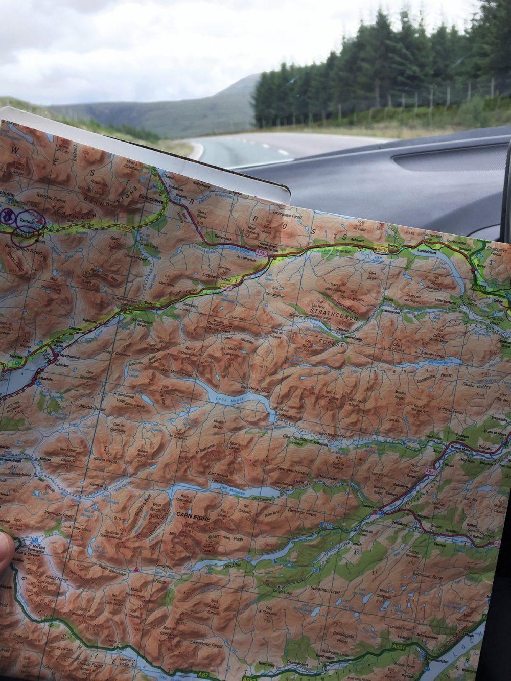 Splodz Blogz | NC500 | Map Reading OSMaps