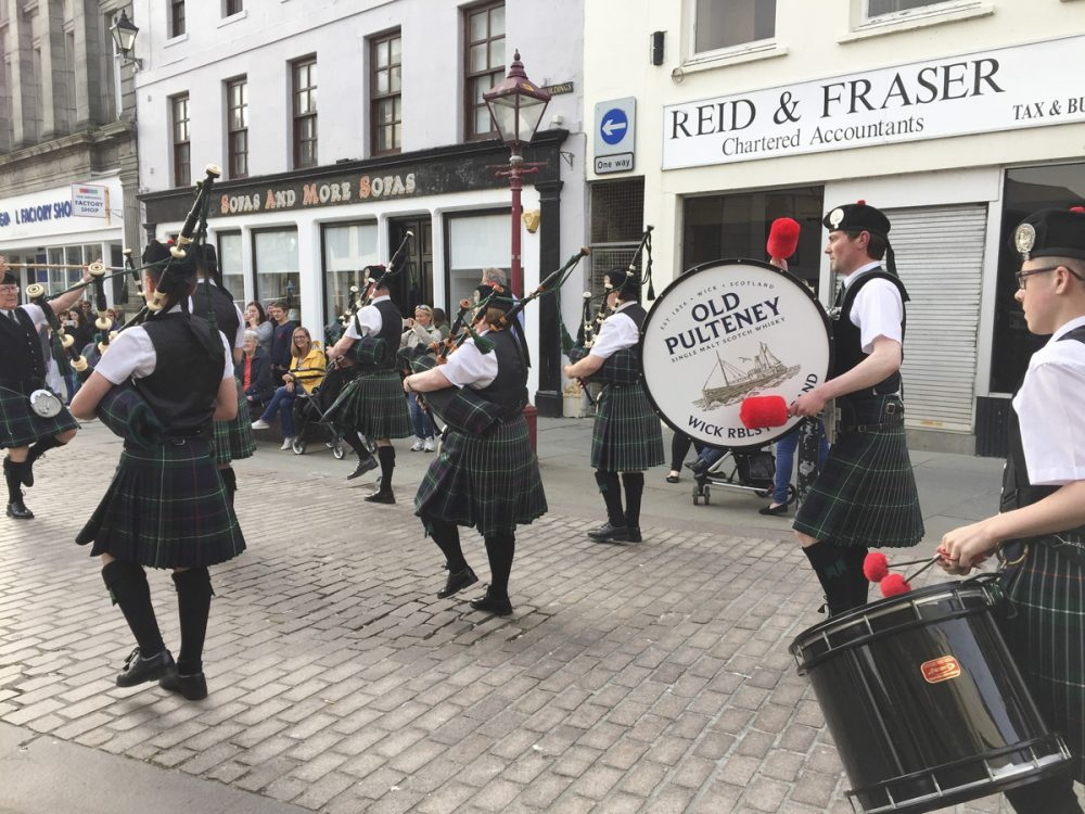 Splodz Blogz | NC500 | Pipes and Drums